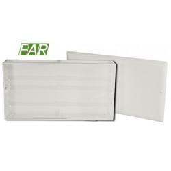 CASSETTA di ISPEZIONE mm 400x250 per COLLETTORI Senza SUPPORTI(Art. 7425 FAR)