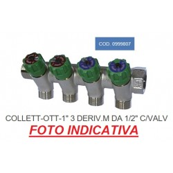 "COLLETTORE OTTONE MF 1""00..."