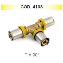 TRIDENT TEE (TIS) 16x16x16  MULTISTRATO