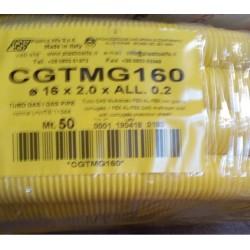 TUBO MULTISTRATO GAS 16x2 CGTMG160 (ALFA GAS PROTEK) Rotolo da 50MT