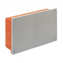 SCATOLA INCASSO (PT7) 296x152x70 con COPERCHIO IP40 (00427)