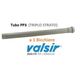 TUBO PP3 a 1 Bicchiere c/g Ø mm  50x0,15MT (15cm)