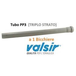 TUBO PP3 a 1 Bicchiere c/g Ø mm  50x0,25MT (25cm)