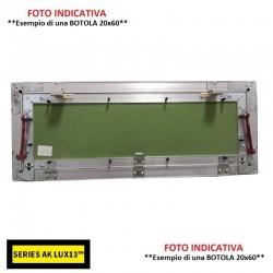 SCATOLA DERIVAZIONE a INCASSO mm 105x105x50 Con COPERCHIO (per Cartongesso)