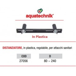 DIMA per GRUPPI (DISTANZIATORE) Regolabile da mm 80 a 240 in Plastica (Art. 27056)