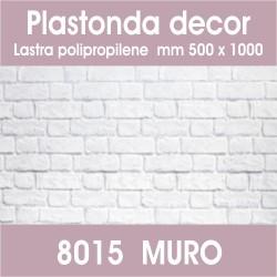 Plastonda decor MURO (8015) PANNELLO DECORATIVO cm 50x100 (Confezione da 15pz)
