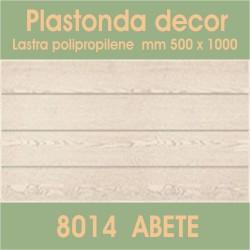 Plastonda decor ABETE (8014) PANNELLO DECORATIVO cm 50x100 (Confezione da 15pz)