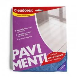 EUDOREX - PANNO PER PAVIMENTI IN MICROFIBRA EUDOREX 40x60cm - a soli 2,00€ su FESEA online - fesea.shop
