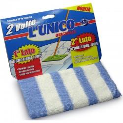 L'UNICO ORIGINALE - L'UNICO ORIGINALE 2 VOLTE PANNO PAVIMENTI MICROFIBRA E COTONE - a soli 1,10€ su FESEA online - fesea.shop