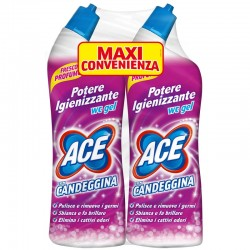 Confezione 2pz da 700ml ACE WC GEL CON CANDEGGINA FRESCO PROFUMO (2x700ml)