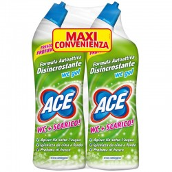Confezione 2pz da 700ml DISINCROSTANTE ACE WC GEL SENZA CANDEGGINA (2x700ml)