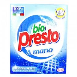 BIO PRESTO - BIO PRESTO DETERSIVO 320gr BUCATO A MANO IN POLVERE - a soli 1,60€ su FESEA online - fesea.shop