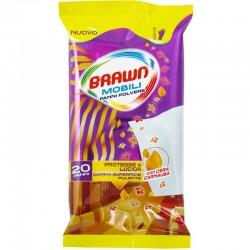 BRAWN - BRAWN MOBILI PANNI POLVERE CON CERA CARNAUBA 20 PANNI - a soli 1,80€ su FESEA online - fesea.shop