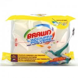 BRAWN - BRAWN L'ACCIUFFAPOLVERE per tutte le Supercici 14 PANNI - a soli 1,40€ su FESEA online - fesea.shop