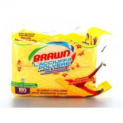 BRAWN - BRAWN L'ACCIUFFAPOLVERE LEGNO e PARQUET 12 PANNI - a soli 1,40€ su FESEA online - fesea.shop
