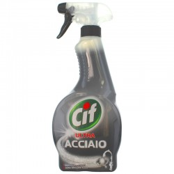 CIF - CIF ACCIAIO SPRAY 500ml - a soli 2,80 € su FESEA online - fesea.shop