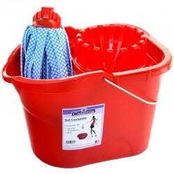 CASAMIA - MOP SET COMPLETO *SENZA MANICO* 1Secchio 1Strizzatore 1Mop - a soli 7,10€ su FESEA online - fesea.shop