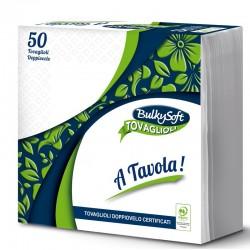 BULKYSOFT - TOVAGLIOLI DoppioVelo 38x38 2Veli 50pz - a soli 0,90€ su FESEA online - fesea.shop