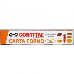 CONTITAL - CARTA FORNO 50m LARGHEZZA 40cm FORMATO PROFESSIONALE - a soli 7,00€ su FESEA online - fesea.shop