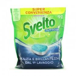 SVELTO - SVELTO TABS 90 LAVAGGI TUTTO IN 1 LIMONE 1375gr - a soli 11,50€ su FESEA online - fesea.shop
