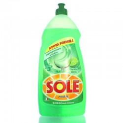 SOLE - SOLE DETERSIVO PIATTI LIQUIDO LIMONE VERDE 1100ml - a soli 1,00€ su FESEA online - fesea.shop