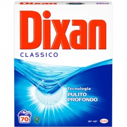 DIXAN - DIXAN DETERSIVO in POLVERE CLASSICO BUCATO LAVATRICE FUSTONE 70Lavaggi - a soli 9,70€ su FESEA online - fesea.shop