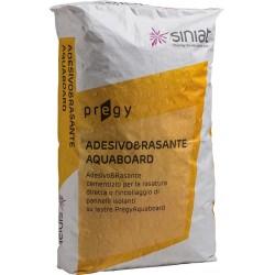 ADESIVO & RASANTE in Polvere  PREGYAQUABOARD kg 25 SPECIFICO per CARTONGESSO