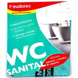 EUDOREX - PANNO MICROFIBRA SANITAL WC EUDOREX 30x32cm - a soli 2,00€ su FESEA online - fesea.shop