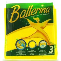 VIM - PANNO BALLERINA VIM 3pz - a soli 1,20€ su FESEA online - fesea.shop