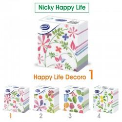 NICKY - TOVAGLIOLI DECORO D1 33x33 1 VELO NICKY HAPPY LIFE 70pz - a soli 1,50€ su FESEA online - fesea.shop
