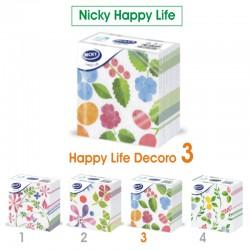 NICKY - TOVAGLIOLI DECORO D3 33x33 1 VELO NICKY HAPPY LIFE 70pz - a soli 1,50€ su FESEA online - fesea.shop