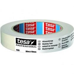tesa - NASTRO CARTA TESA 19mm Art. 04325-00000 (50m x 19mm) MASCHERATURE PROFESSIONALI 50Metri x Larghezza 19mm