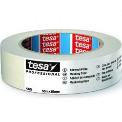 tesa - NASTRO CARTA TESA 30mm Art. 04325-00002 (50m x 30mm) MASCHERATURE PROFESSIONALI 50Metri x Larghezza 30mm