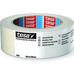 tesa - NASTRO CARTA TESA 38mm Art. 04325-00003 (50m x 38mm) MASCHERATURE PROFESSIONALI 50Metri x Larghezza 38mm