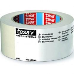 tesa - NASTRO CARTA TESA 50mm Art. 04325-00004 (50m x 50mm) MASCHERATURE PROFESSIONALI 50Metri x Larghezza 50mm