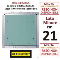 "BOTOLA cm 40 x 40 in ABS Serie FEROX ""MEDIUM LINE"""