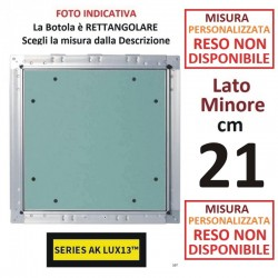 BOTOLA cm  21 x 210 Serie AK Lux13 **PERSONALIZZATA**