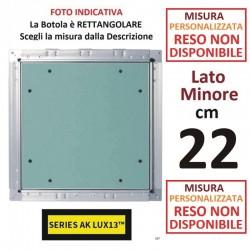 BOTOLA cm  22 x 210 Serie AK Lux13 **PERSONALIZZATA**