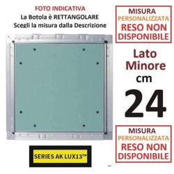 BOTOLA cm  24 x 190 Serie AK Lux13 **PERSONALIZZATA**