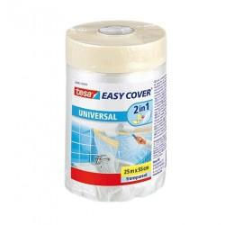 NASTRO MASCHERATURA con TELO EASY COVER UNIVERSAL 25m x 55cm tesa 58882-00000-01