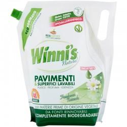 WINNI'S - WINNI'S Naturel PAVIMENTI & Superfici Lavabili Busta 1,2LT 48Lavaggi - a soli 2,40€ su FESEA online - fesea.shop