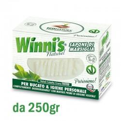 WINNI'S - WINNI'S Naturel SAPONE di MARSIGLIA per BUCATO & IGIENE PERSONALE pezzi da 250gr - a soli 1,40€ su FESEA online - ...