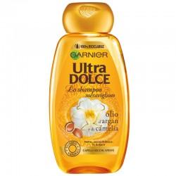 GARNIeR Ultra DOLCE - Ultra DOLCE SHAMPOO MERAVIGLIOSO olio d'ARGAN e di CAMELIA Capelli SECCHI SPENTI 250ml - a soli 2,30€ ...