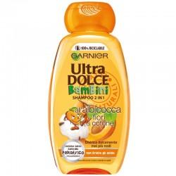 GARNIeR Ultra DOLCE - Ultra DOLCE SHAMPOO 2in1 BamBini ALBICOCCA e fiori di COTONE non Brucia gli occhi 250ml - a soli 2,30€...