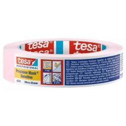 NASTRO CARTA TESA (Rosa) PRECISION MASK Sensitive Art. 04333-00018 (50m x 25mm) MASCHERATURE PROFESSIONALI