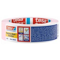 NASTRO CARTA TESA (Rosa) PRECISION MASK Sensitive Art. 04333-00019 (50m x 30mm) MASCHERATURE PROFESSIONALI