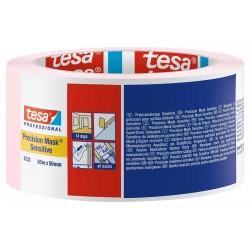 NASTRO CARTA TESA (Rosa) PRECISION MASK Sensitive Art. 04333-00021 (50m x 50mm) MASCHERATURE PROFESSIONALI