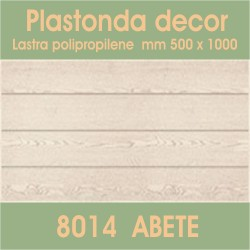 Plastonda decor ABETE (8014) PANNELLO DECORATIVO cm 50x100