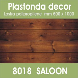 Plastonda decor SALOON (8018) PANNELLO DECORATIVO cm 50x100
