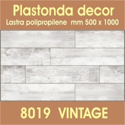 Plastonda decor VINTAGE (8019) PANNELLO DECORATIVO cm 50x100